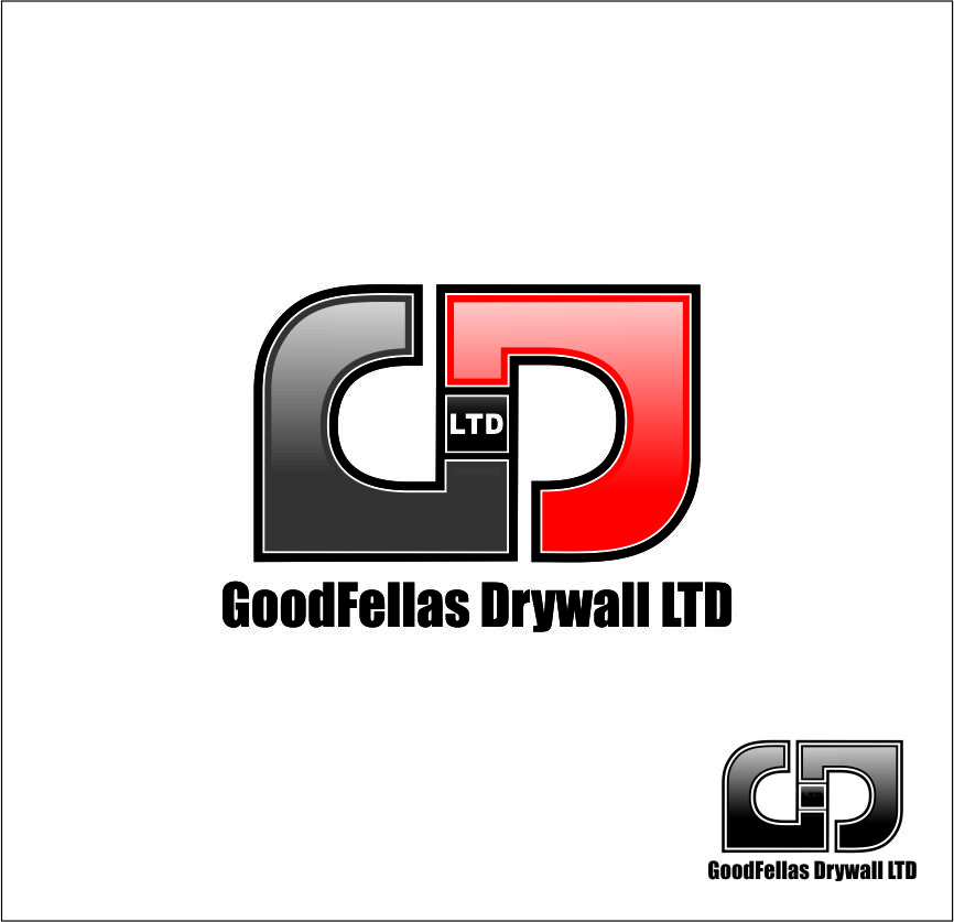 Logo Design by Agus Martoyo - Entry No. 209 in the Logo Design Contest Creative Logo Design for Goodfellas Drywall.