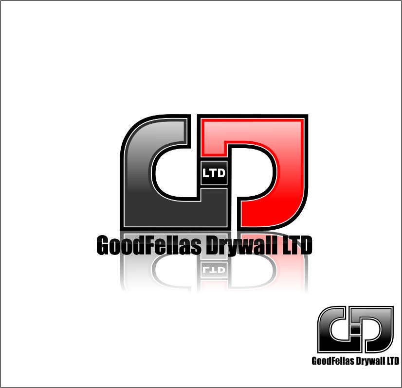 Logo Design by Agus Martoyo - Entry No. 210 in the Logo Design Contest Creative Logo Design for Goodfellas Drywall.