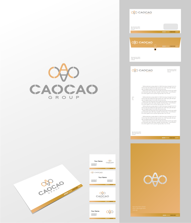 Logo Design by graphicleaf - Entry No. 215 in the Logo Design Contest cao cao group pty ltd Logo Design.