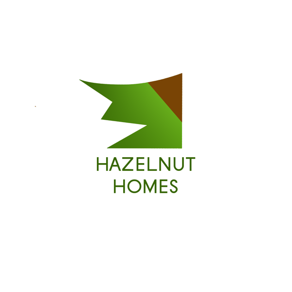 Logo Design by JaroslavProcka - Entry No. 95 in the Logo Design Contest Unique Logo Design Wanted for Hazelnut Homes.