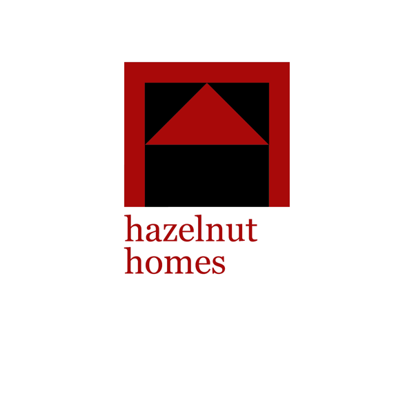 Logo Design by JaroslavProcka - Entry No. 97 in the Logo Design Contest Unique Logo Design Wanted for Hazelnut Homes.