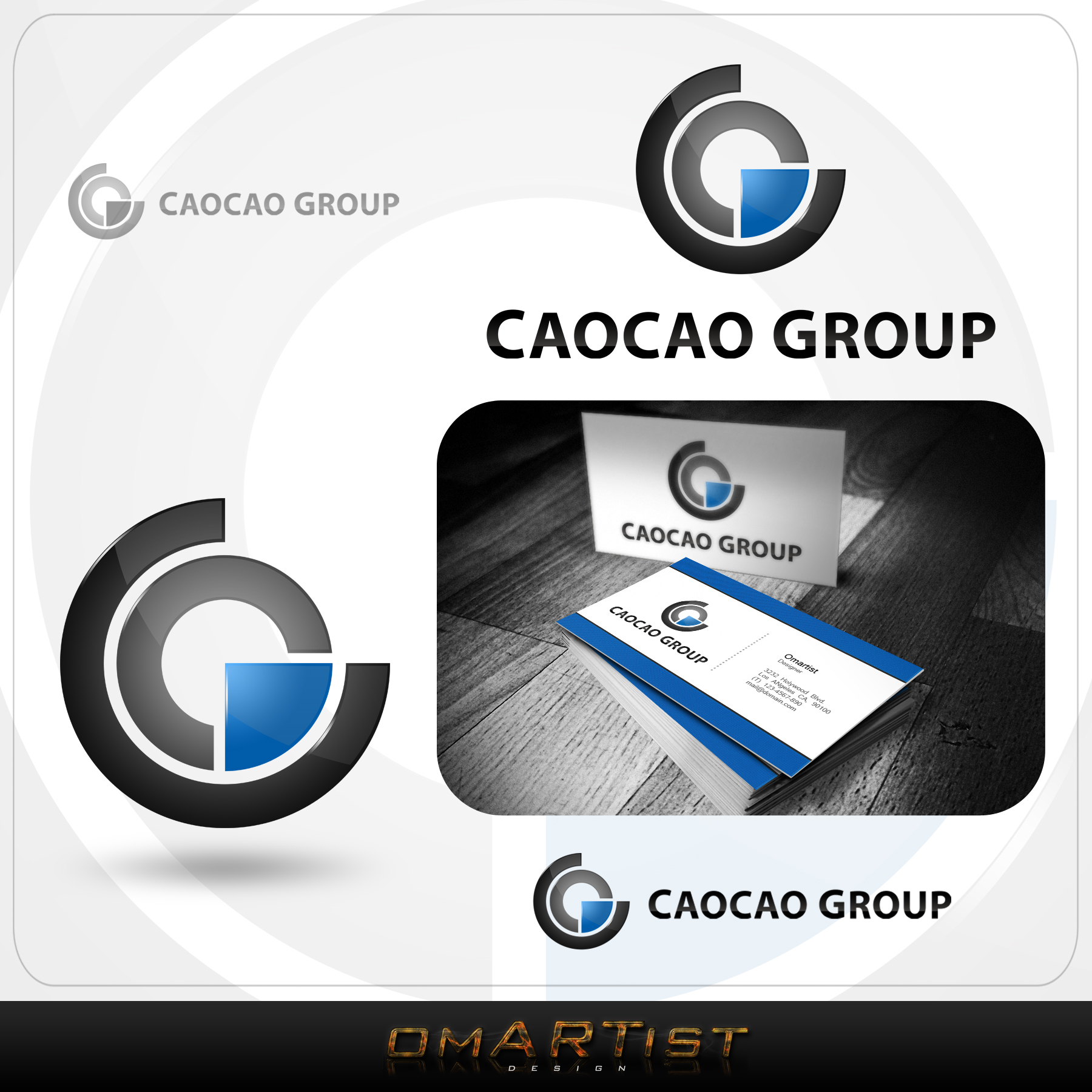 Logo Design by omARTist - Entry No. 217 in the Logo Design Contest cao cao group pty ltd Logo Design.