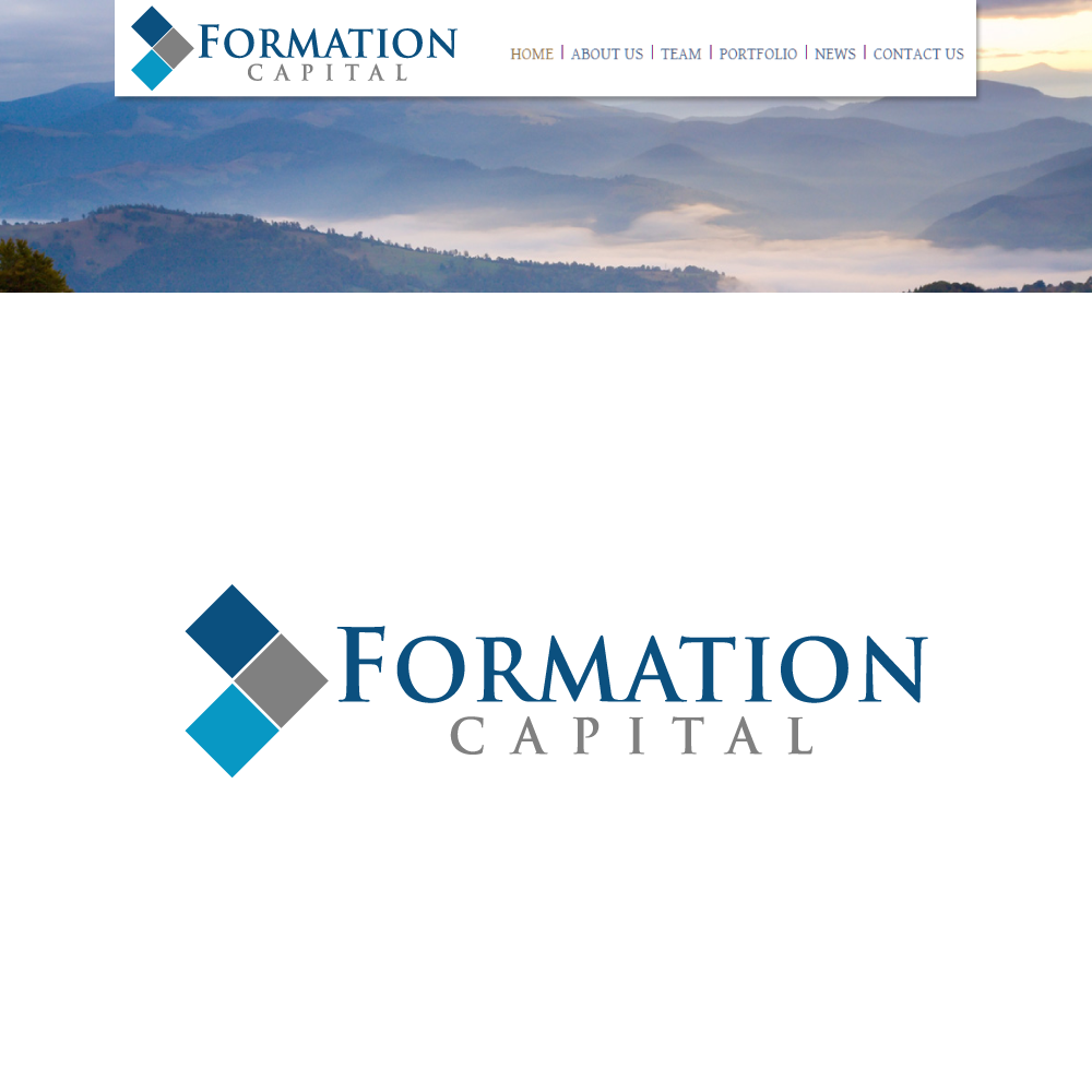 Logo Design by rockin - Entry No. 5 in the Logo Design Contest Inspiring Logo Design for Formation Capital.