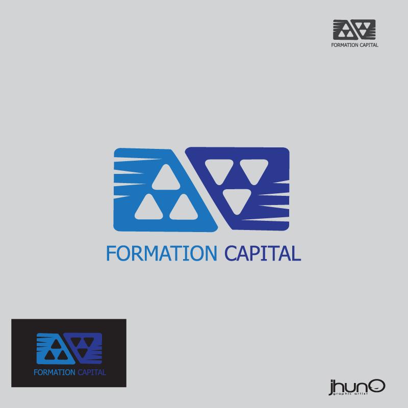 Logo Design by zesthar - Entry No. 8 in the Logo Design Contest Inspiring Logo Design for Formation Capital.