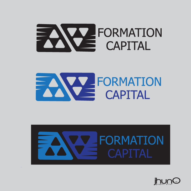 Logo Design by zesthar - Entry No. 9 in the Logo Design Contest Inspiring Logo Design for Formation Capital.