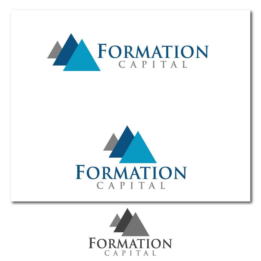 Logo Design by rockin - Entry No. 10 in the Logo Design Contest Inspiring Logo Design for Formation Capital.