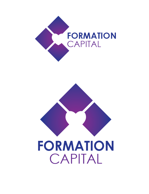 Logo Design by Christina Evans - Entry No. 11 in the Logo Design Contest Inspiring Logo Design for Formation Capital.
