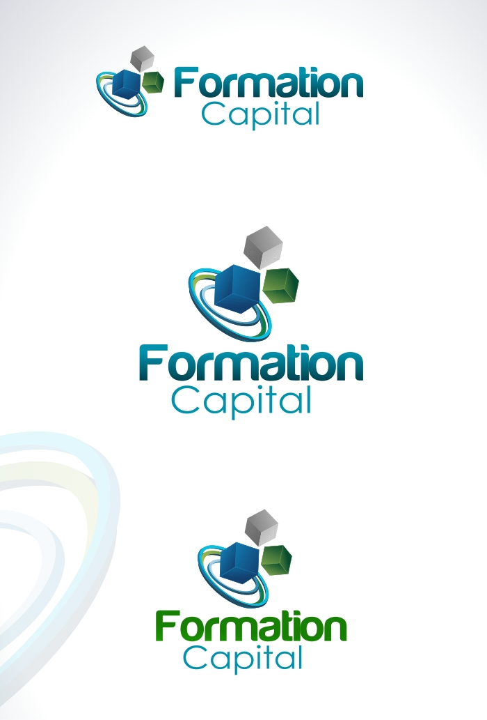Logo Design by Private User - Entry No. 13 in the Logo Design Contest Inspiring Logo Design for Formation Capital.
