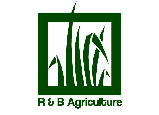 Logo Design by Ismail Adhi Wibowo - Entry No. 24 in the Logo Design Contest Captivating Logo Design for R & B Agriculture.