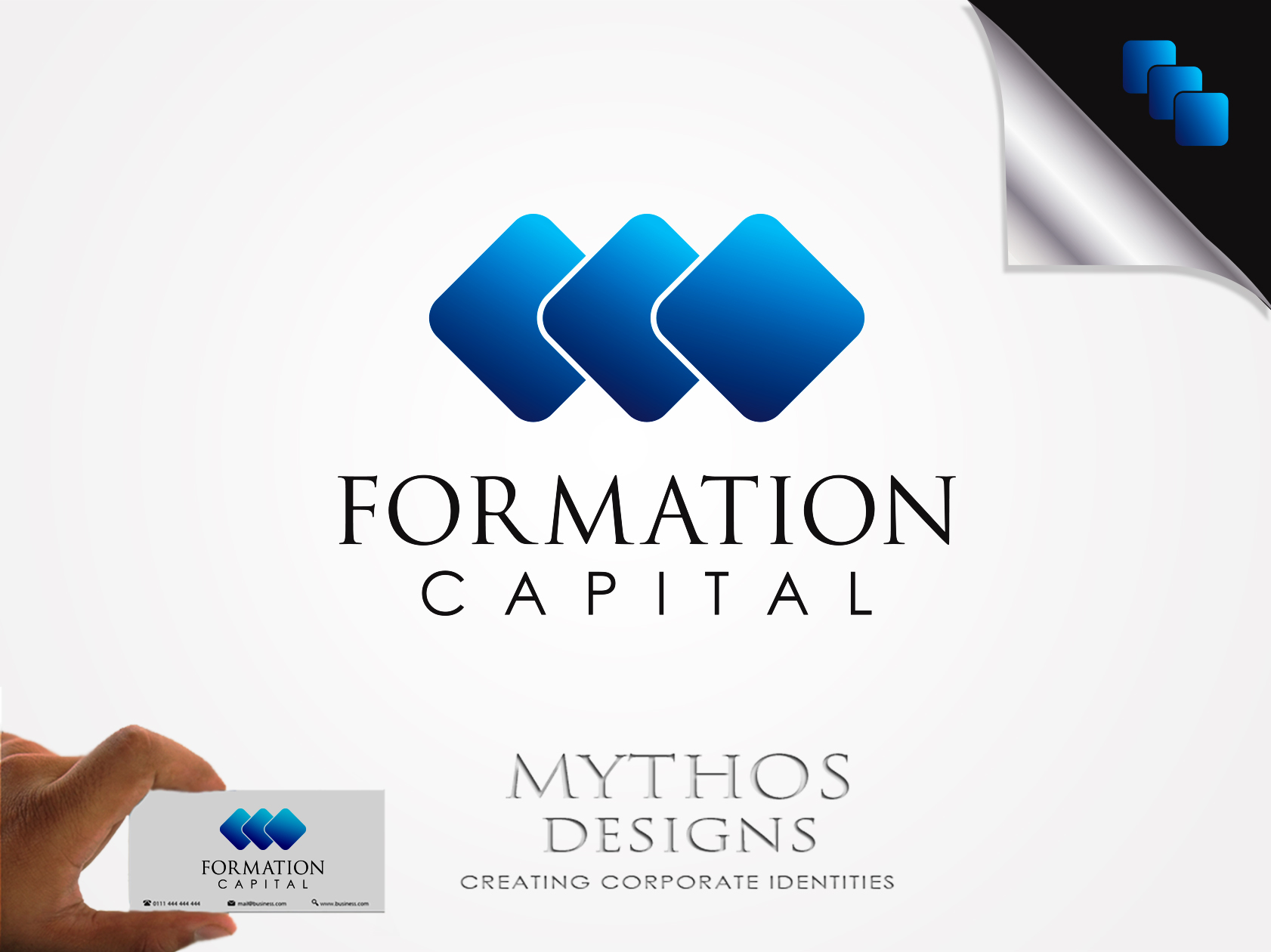 Logo Design by Mythos Designs - Entry No. 18 in the Logo Design Contest Inspiring Logo Design for Formation Capital.