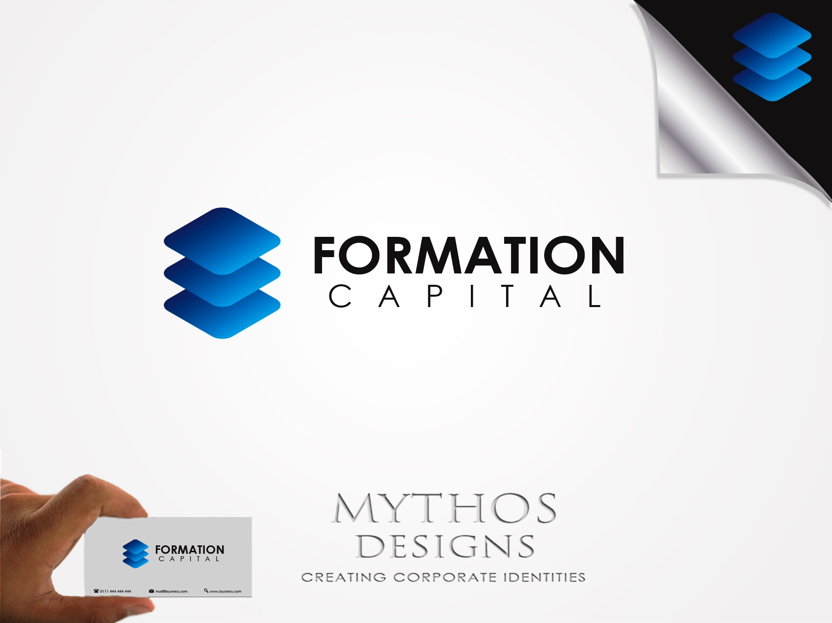 Logo Design by Mythos Designs - Entry No. 19 in the Logo Design Contest Inspiring Logo Design for Formation Capital.