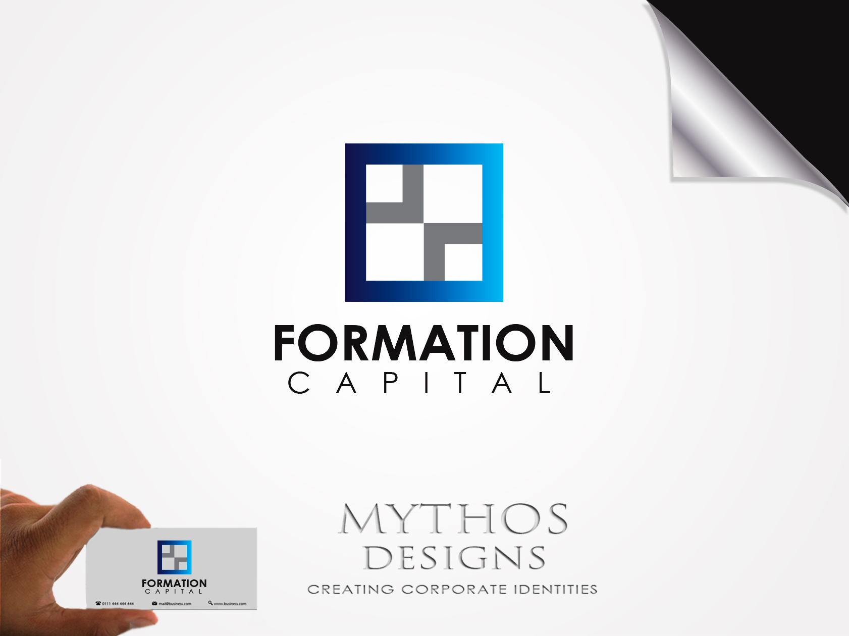 Logo Design by Mythos Designs - Entry No. 20 in the Logo Design Contest Inspiring Logo Design for Formation Capital.
