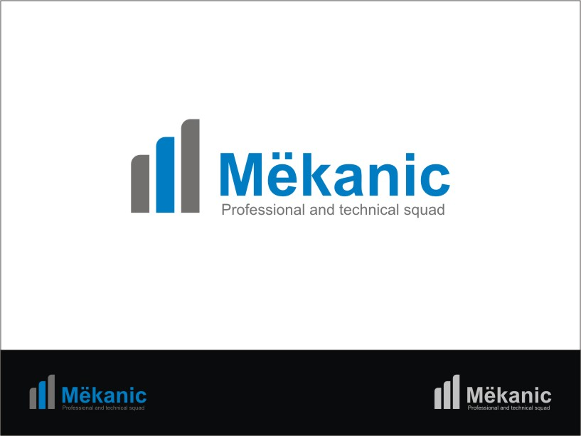 Logo Design by RED HORSE design studio - Entry No. 189 in the Logo Design Contest Creative Logo Design for MËKANIC - Professional and technical squad.
