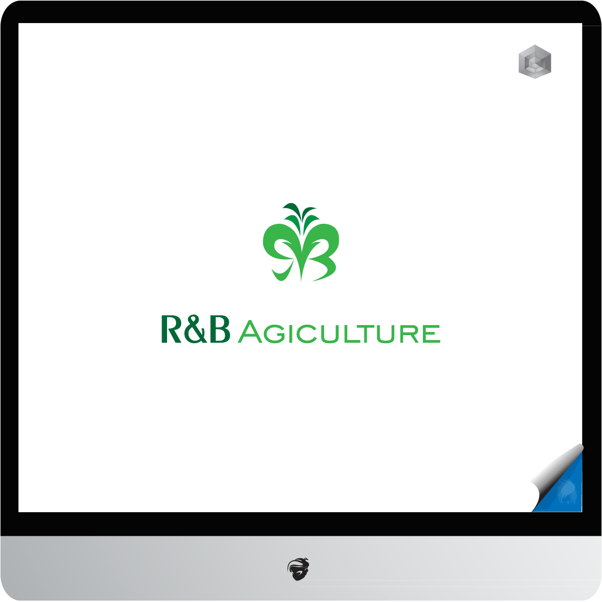 Logo Design by zesthar - Entry No. 26 in the Logo Design Contest Captivating Logo Design for R & B Agriculture.
