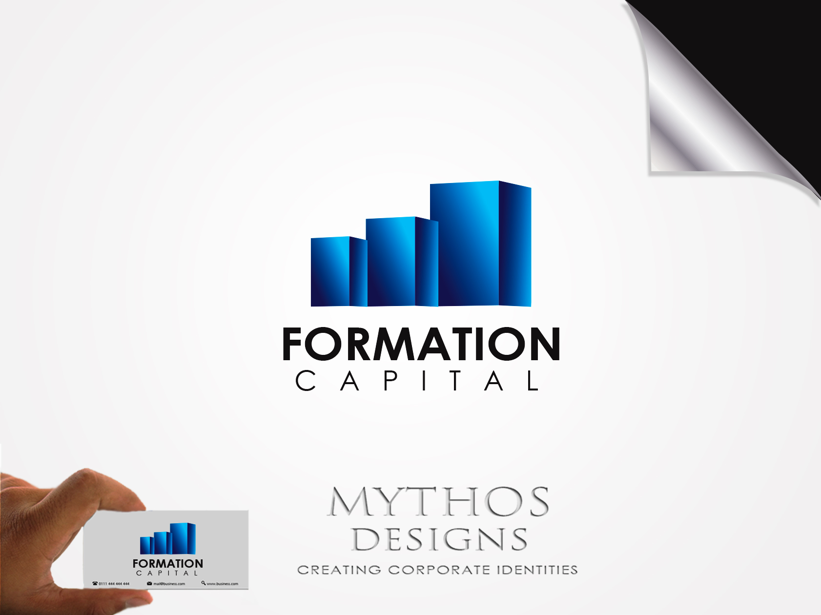 Logo Design by Mythos Designs - Entry No. 23 in the Logo Design Contest Inspiring Logo Design for Formation Capital.