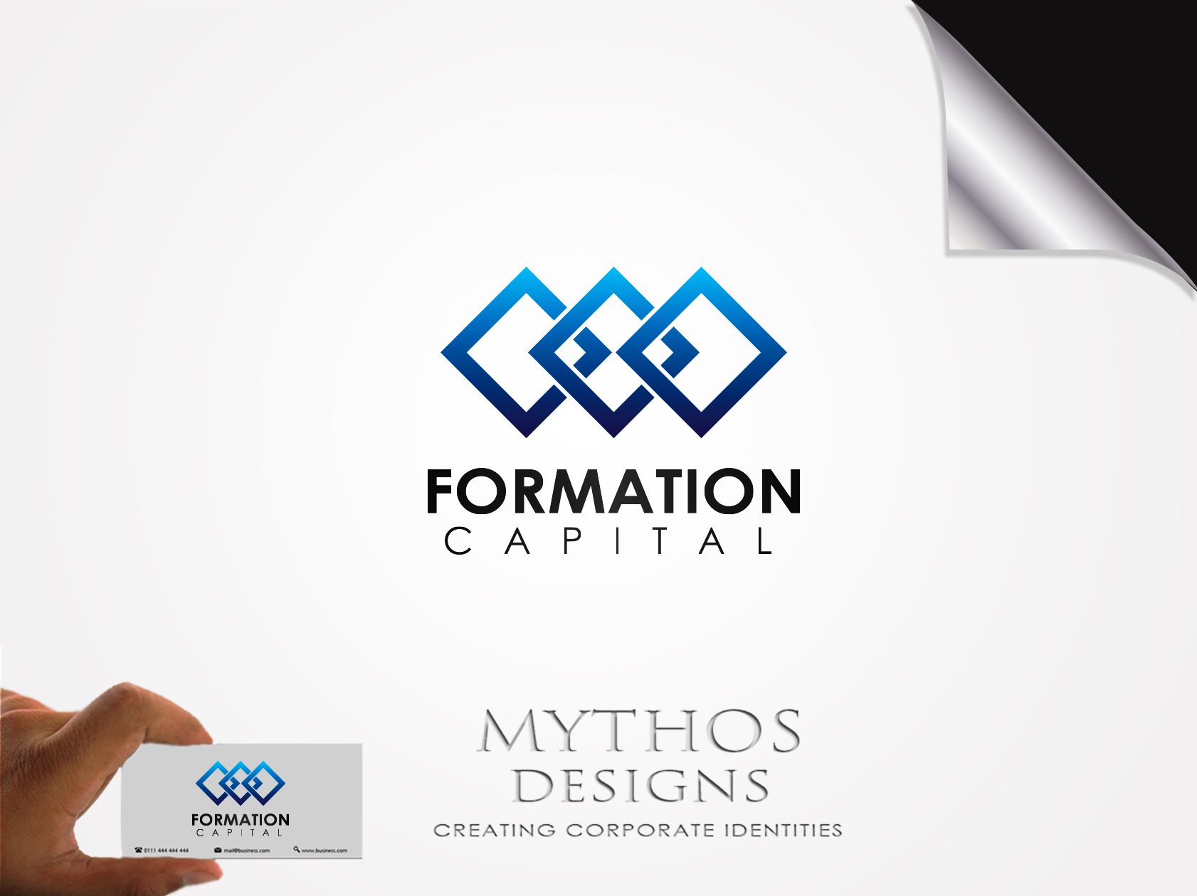 Logo Design by Mythos Designs - Entry No. 26 in the Logo Design Contest Inspiring Logo Design for Formation Capital.