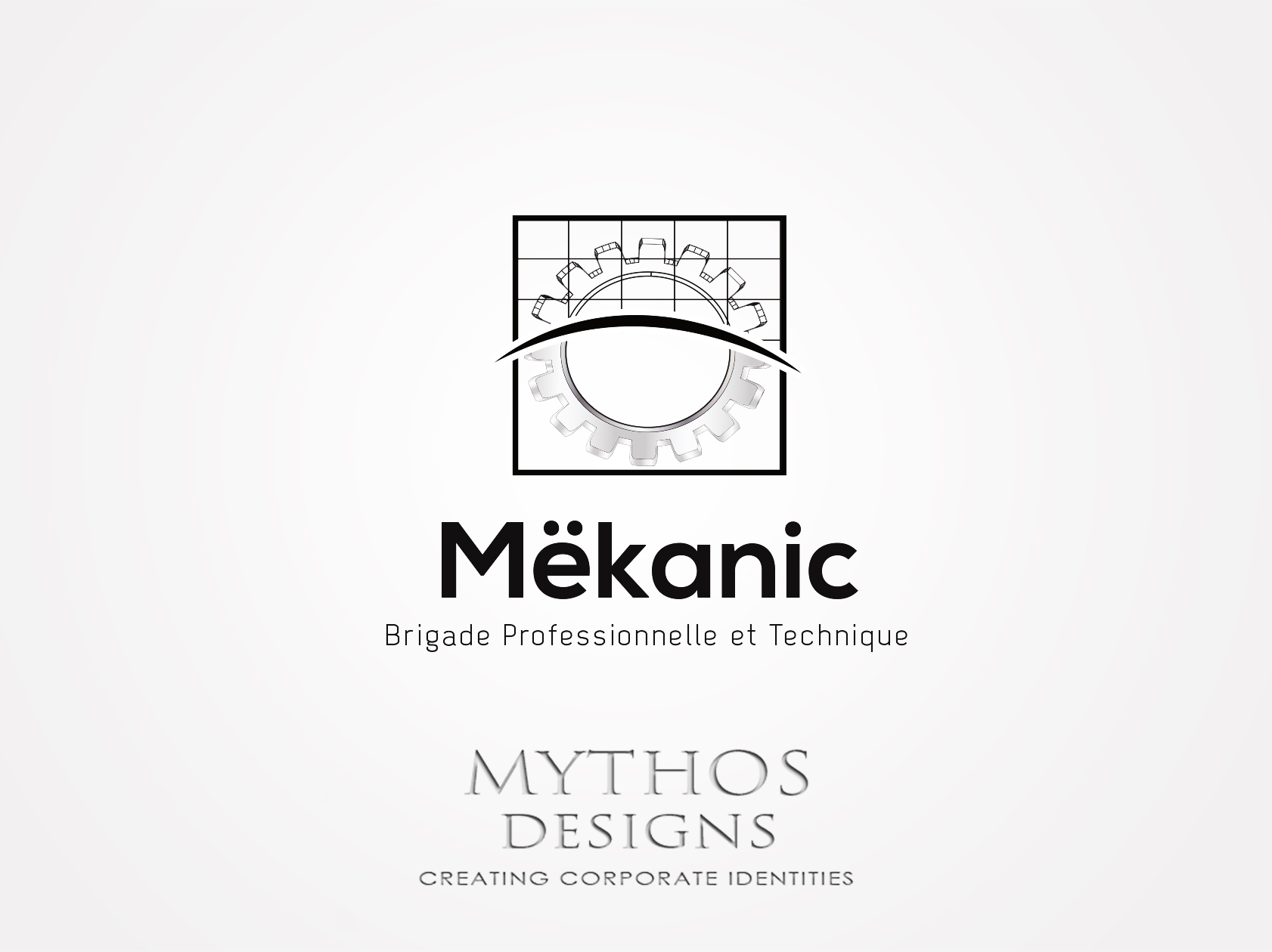 Logo Design by Mythos Designs - Entry No. 198 in the Logo Design Contest Creative Logo Design for MËKANIC - Professional and technical squad.