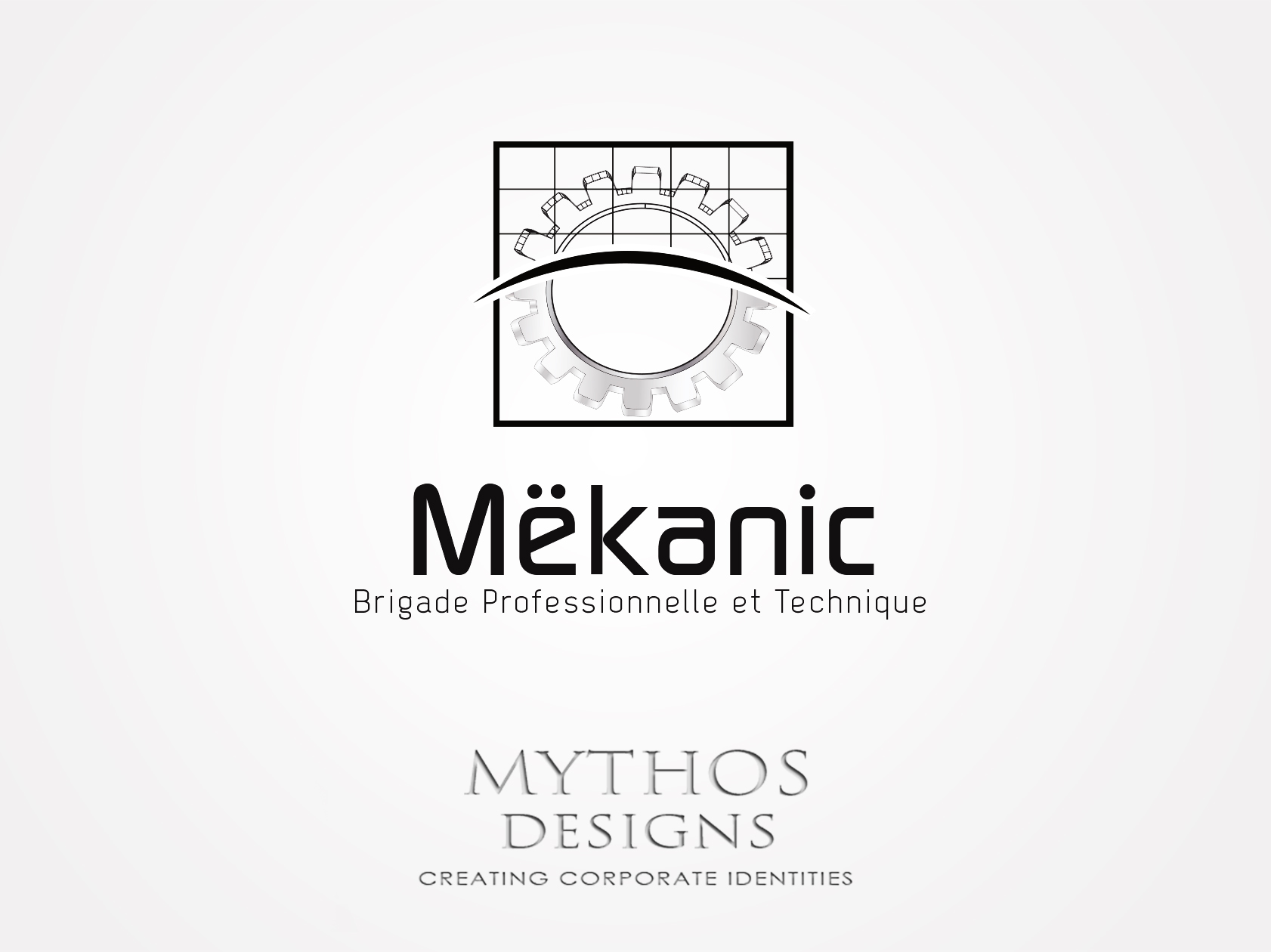 Logo Design by Mythos Designs - Entry No. 202 in the Logo Design Contest Creative Logo Design for MËKANIC - Professional and technical squad.