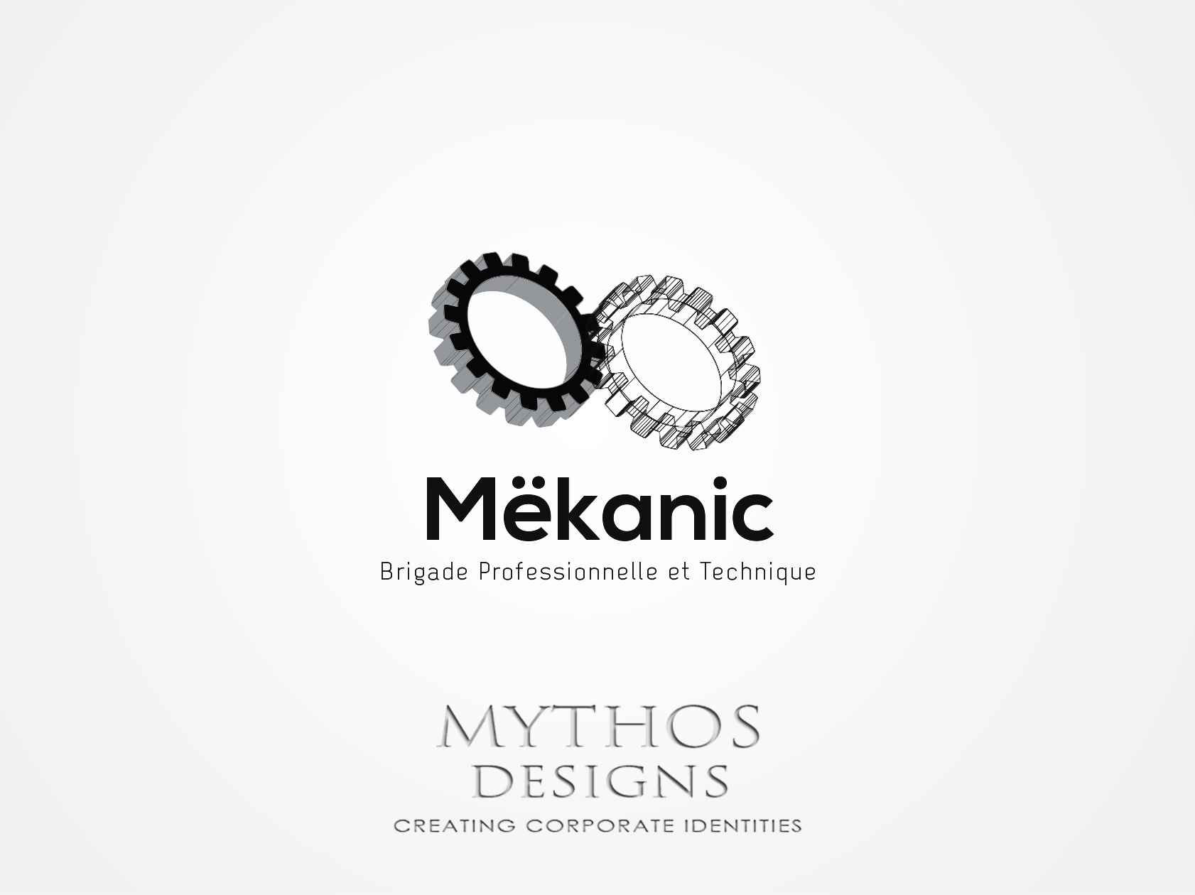 Logo Design by Mythos Designs - Entry No. 205 in the Logo Design Contest Creative Logo Design for MËKANIC - Professional and technical squad.