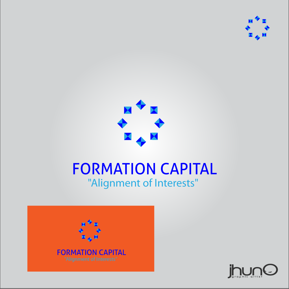 Logo Design by zesthar - Entry No. 32 in the Logo Design Contest Inspiring Logo Design for Formation Capital.