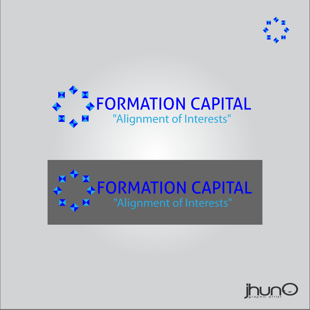 Logo Design by zesthar - Entry No. 33 in the Logo Design Contest Inspiring Logo Design for Formation Capital.
