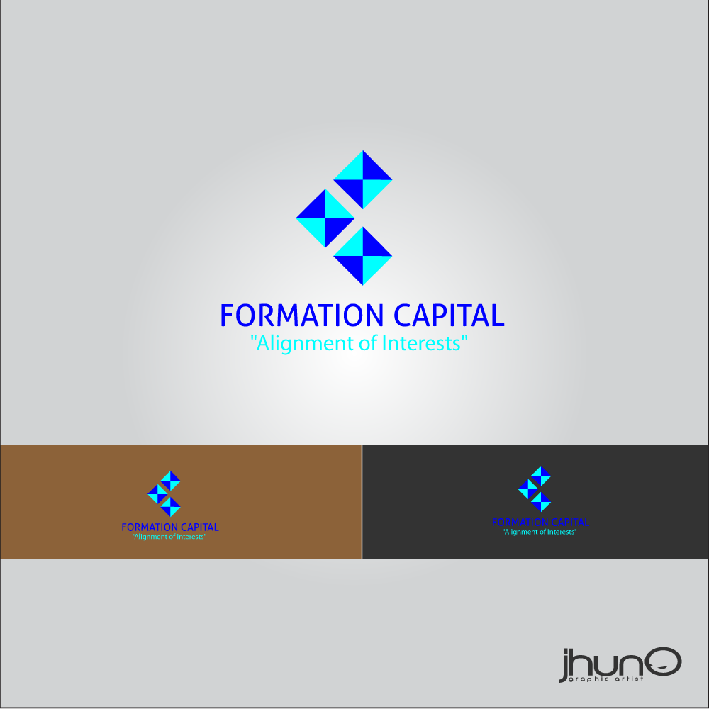Logo Design by zesthar - Entry No. 35 in the Logo Design Contest Inspiring Logo Design for Formation Capital.