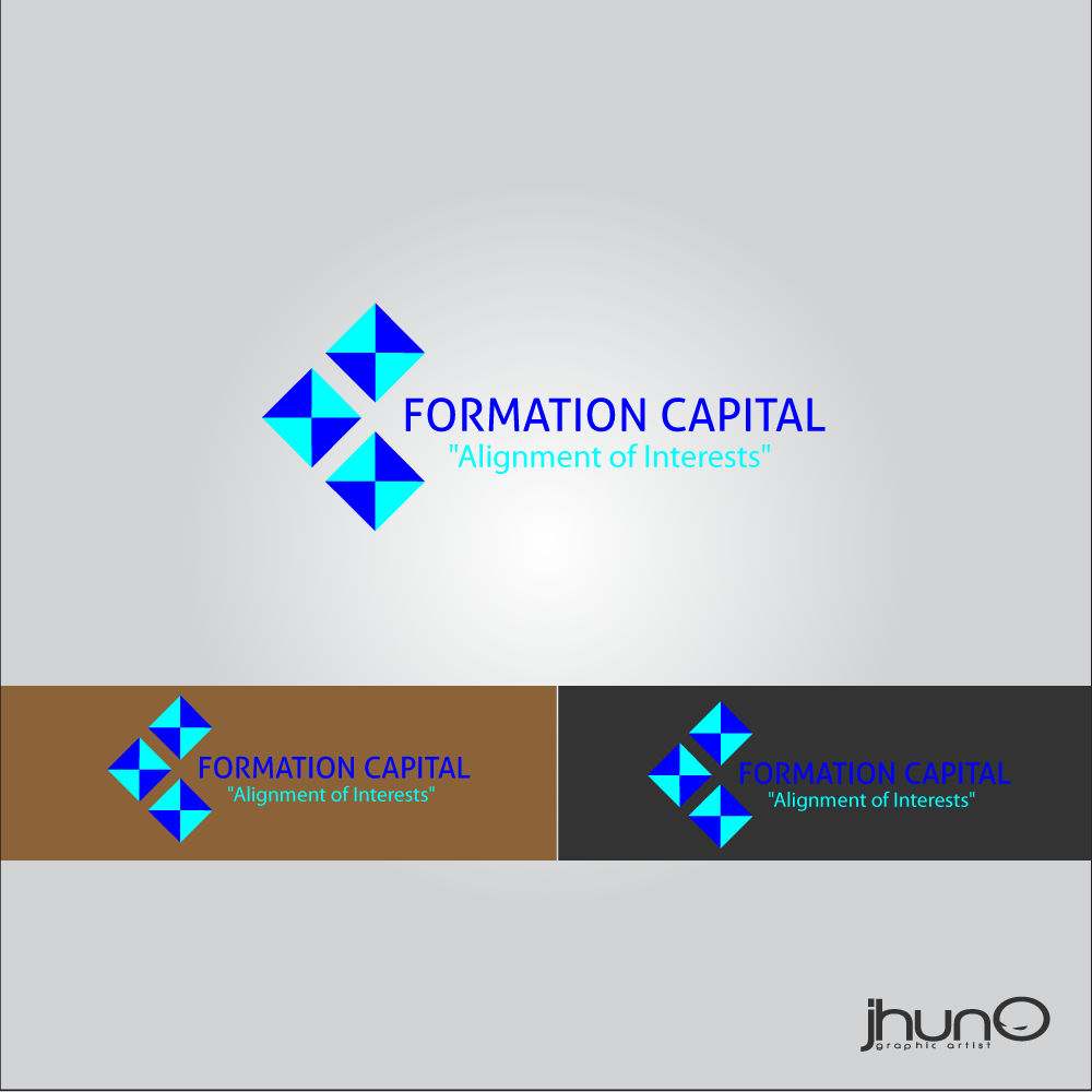 Logo Design by zesthar - Entry No. 36 in the Logo Design Contest Inspiring Logo Design for Formation Capital.