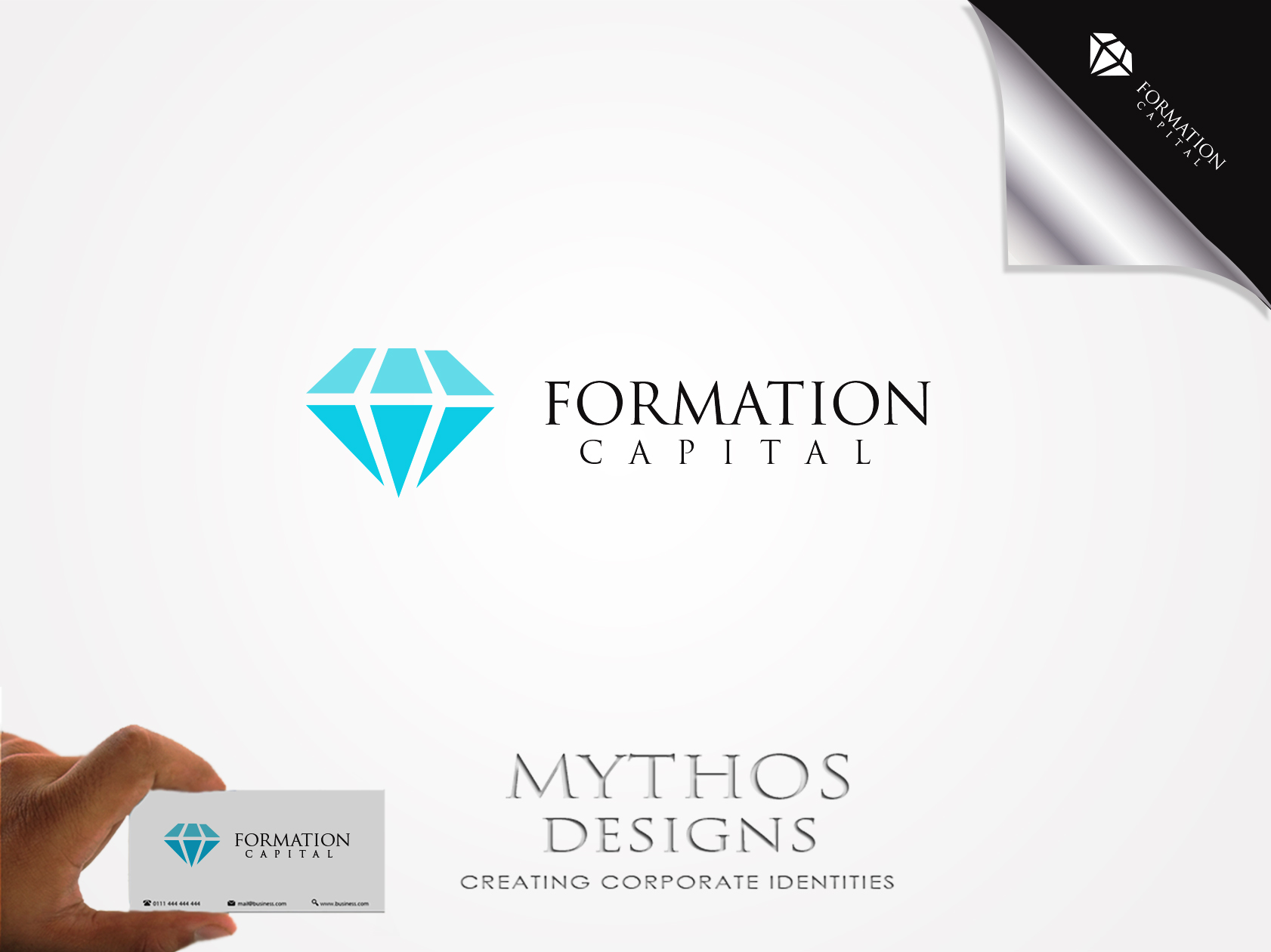 Logo Design by Mythos Designs - Entry No. 37 in the Logo Design Contest Inspiring Logo Design for Formation Capital.