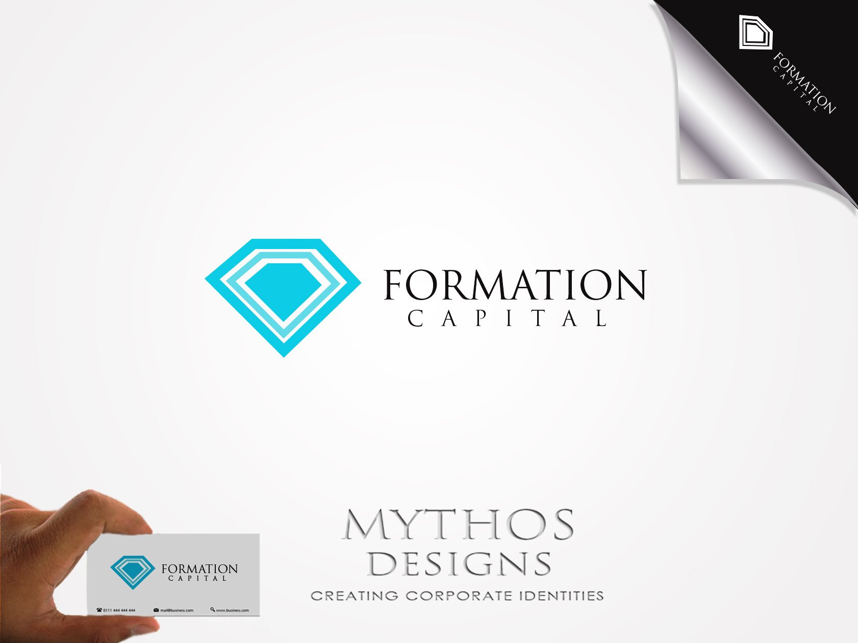 Logo Design by Mythos Designs - Entry No. 39 in the Logo Design Contest Inspiring Logo Design for Formation Capital.