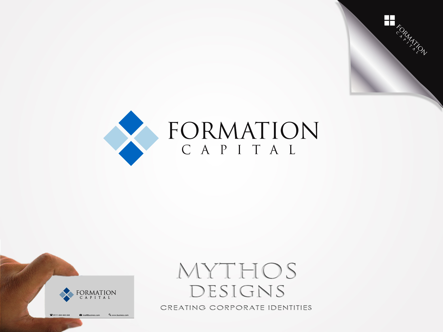 Logo Design by Mythos Designs - Entry No. 40 in the Logo Design Contest Inspiring Logo Design for Formation Capital.
