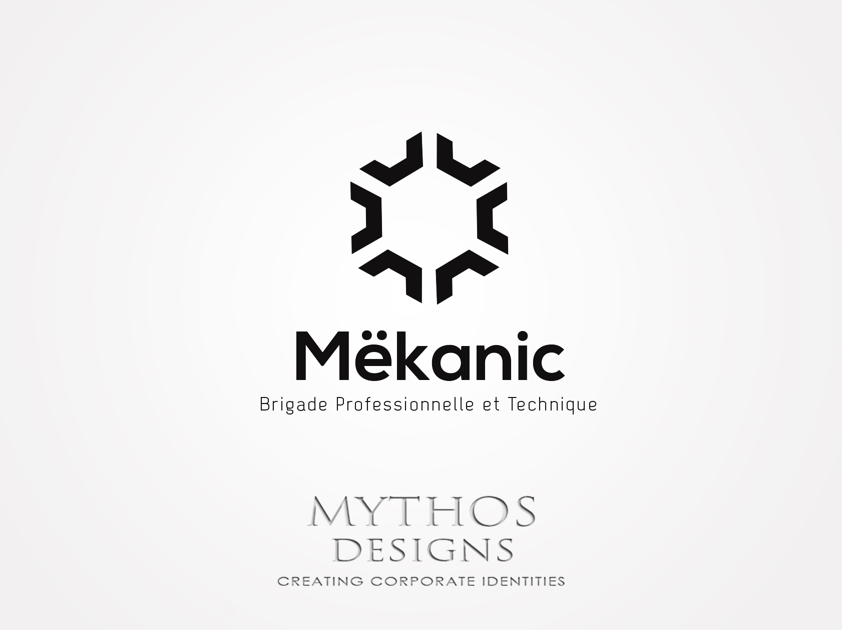 Logo Design by Mythos Designs - Entry No. 209 in the Logo Design Contest Creative Logo Design for MËKANIC - Professional and technical squad.