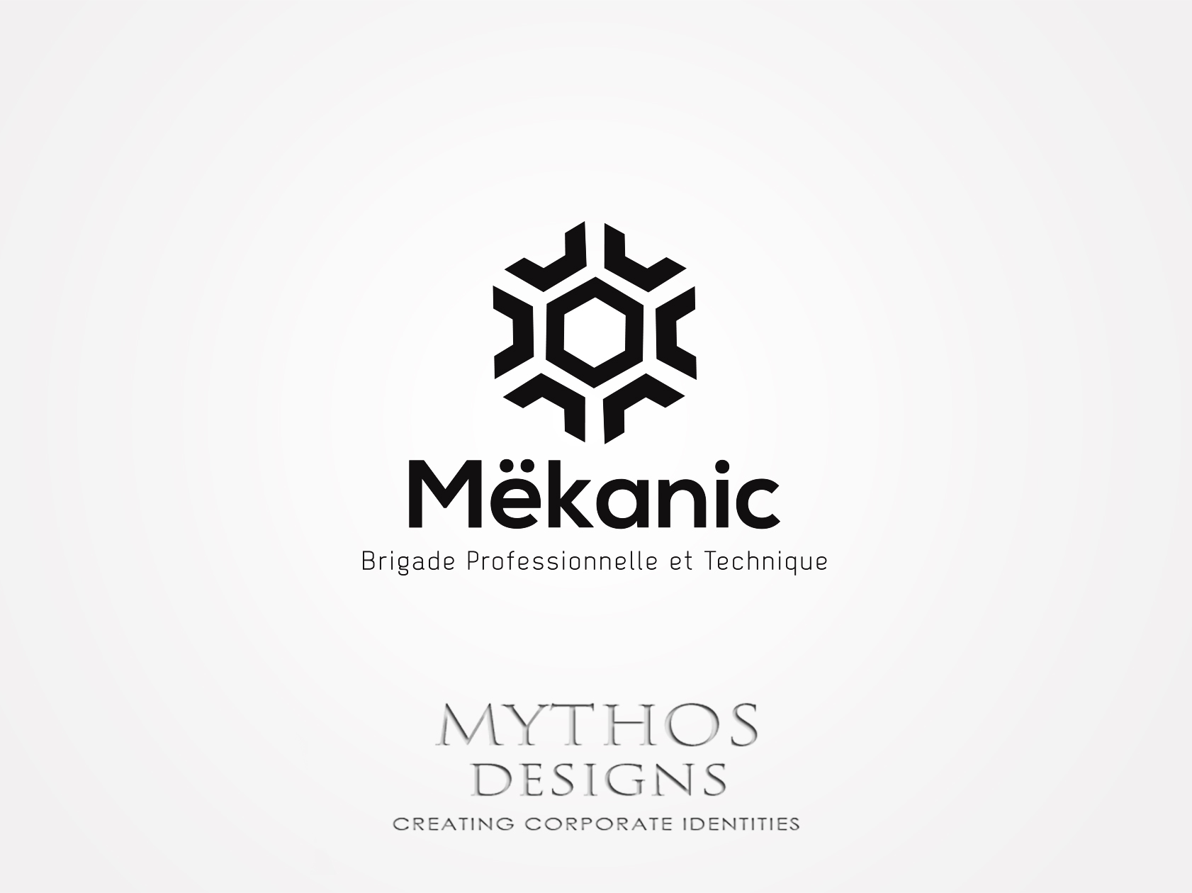 Logo Design by Mythos Designs - Entry No. 210 in the Logo Design Contest Creative Logo Design for MËKANIC - Professional and technical squad.