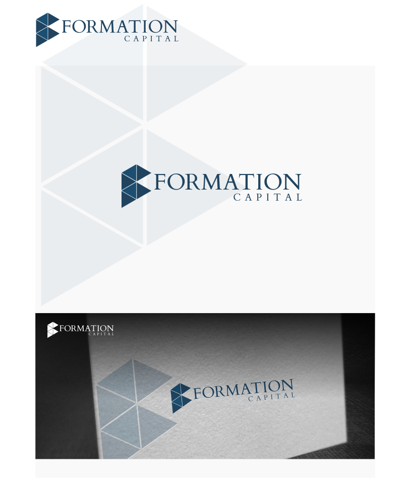 Logo Design by graphicleaf - Entry No. 43 in the Logo Design Contest Inspiring Logo Design for Formation Capital.