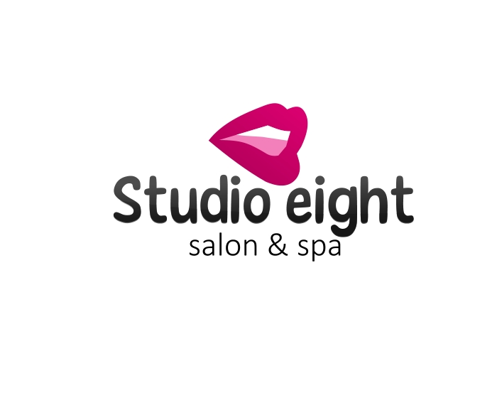 Logo Design by Private User - Entry No. 6 in the Logo Design Contest Captivating Logo Design for studio eight salon & spa.