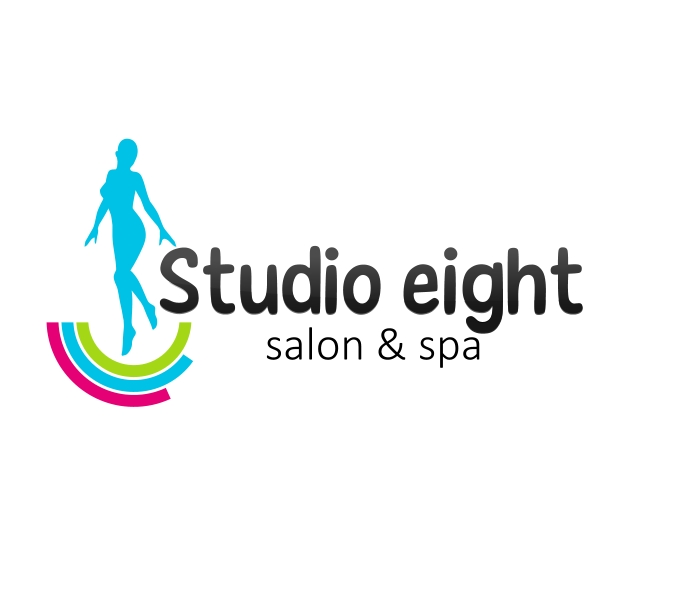 Logo Design by Private User - Entry No. 7 in the Logo Design Contest Captivating Logo Design for studio eight salon & spa.