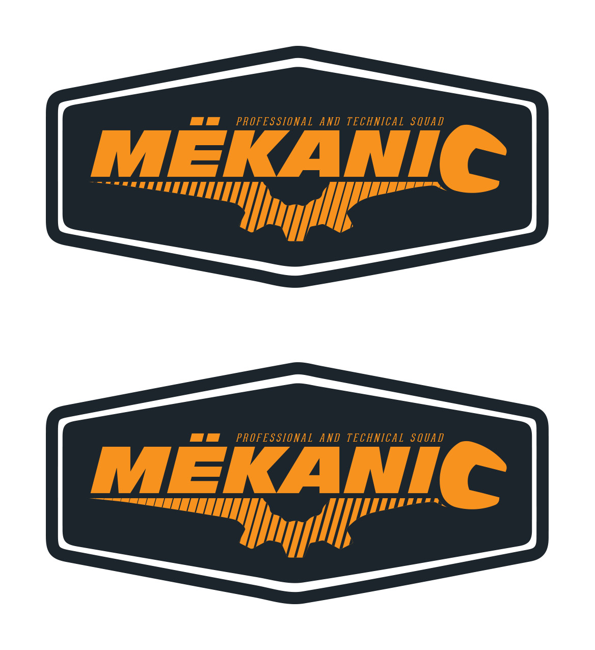 Logo Design by olii - Entry No. 214 in the Logo Design Contest Creative Logo Design for MËKANIC - Professional and technical squad.
