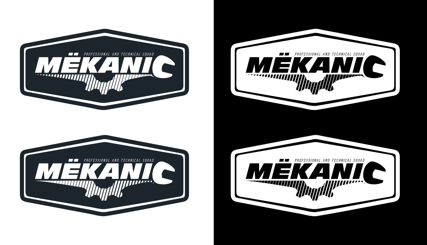 Logo Design by olii - Entry No. 215 in the Logo Design Contest Creative Logo Design for MËKANIC - Professional and technical squad.