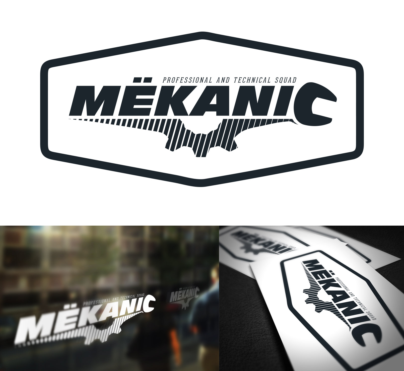 Logo Design by olii - Entry No. 216 in the Logo Design Contest Creative Logo Design for MËKANIC - Professional and technical squad.