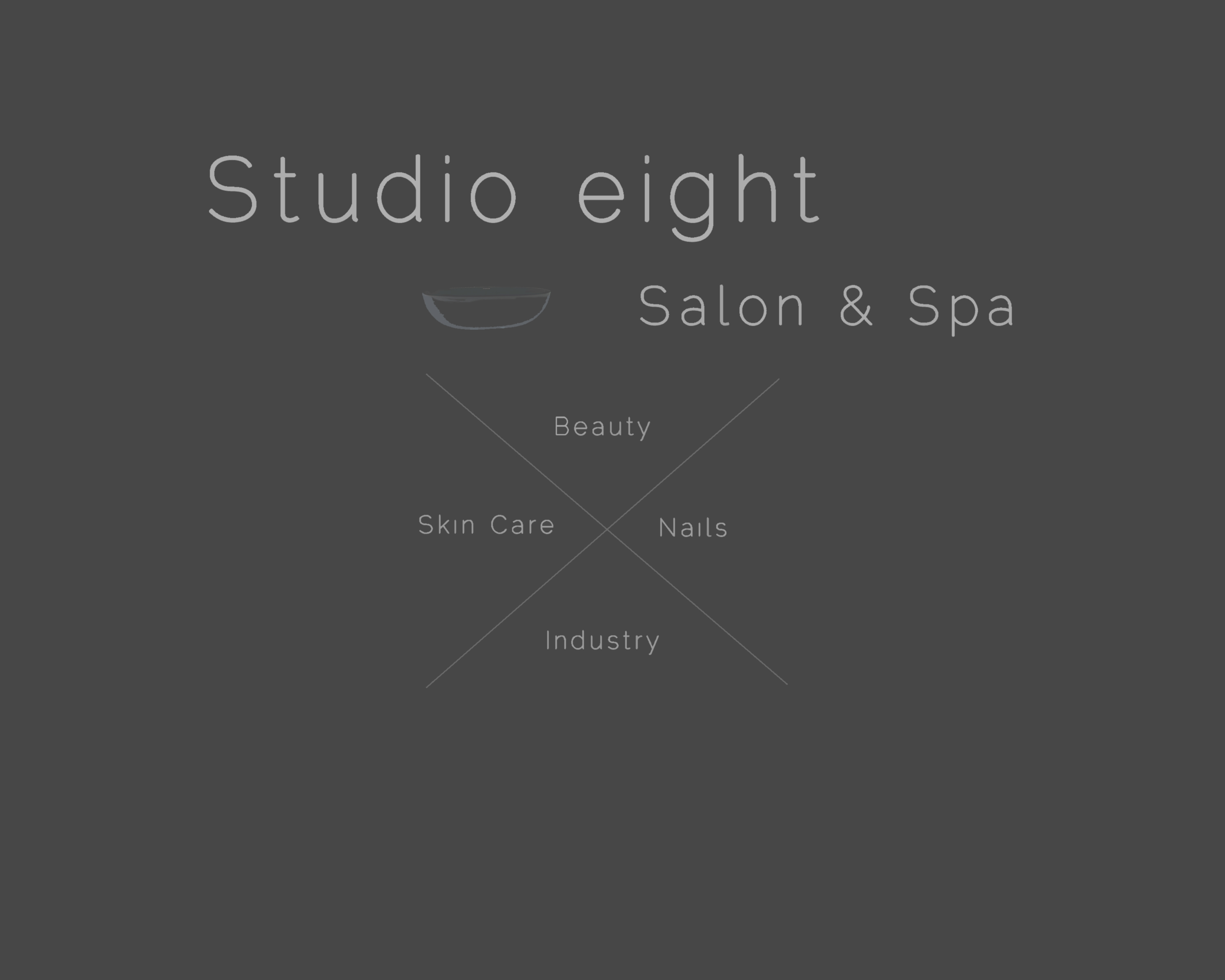 Logo Design by Thodoris Sairoglou - Entry No. 10 in the Logo Design Contest Captivating Logo Design for studio eight salon & spa.