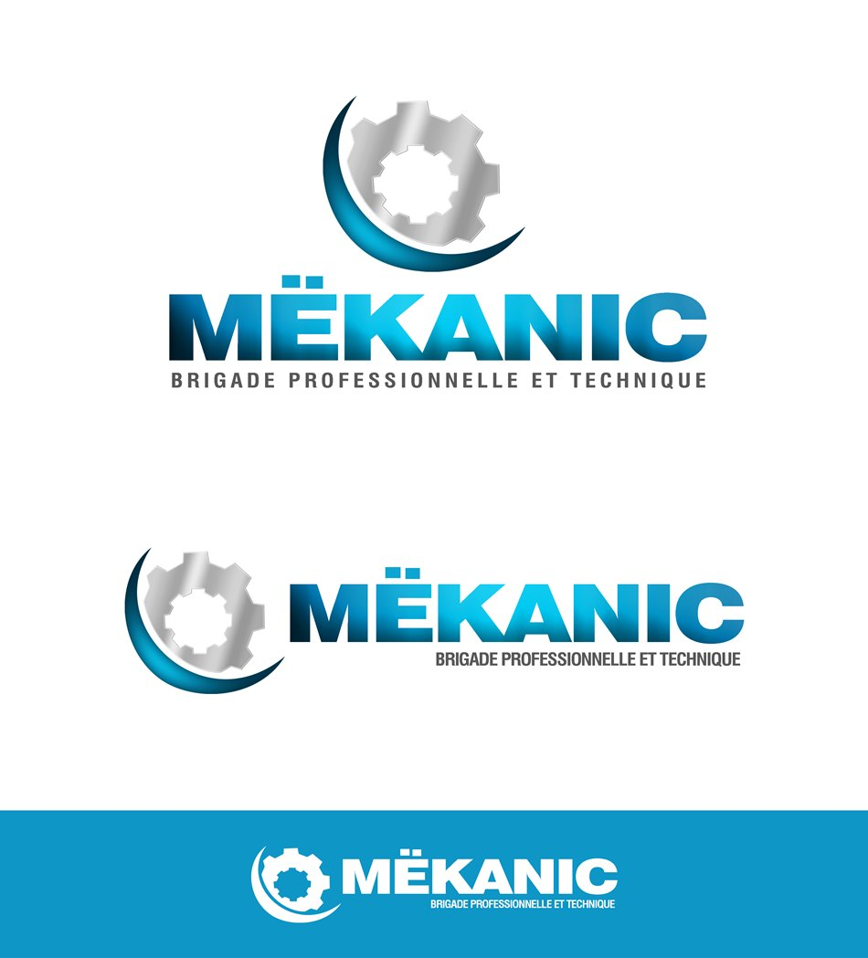 Logo Design by Respati Himawan - Entry No. 223 in the Logo Design Contest Creative Logo Design for MËKANIC - Professional and technical squad.