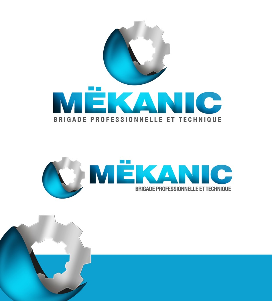 Logo Design by Respati Himawan - Entry No. 224 in the Logo Design Contest Creative Logo Design for MËKANIC - Professional and technical squad.
