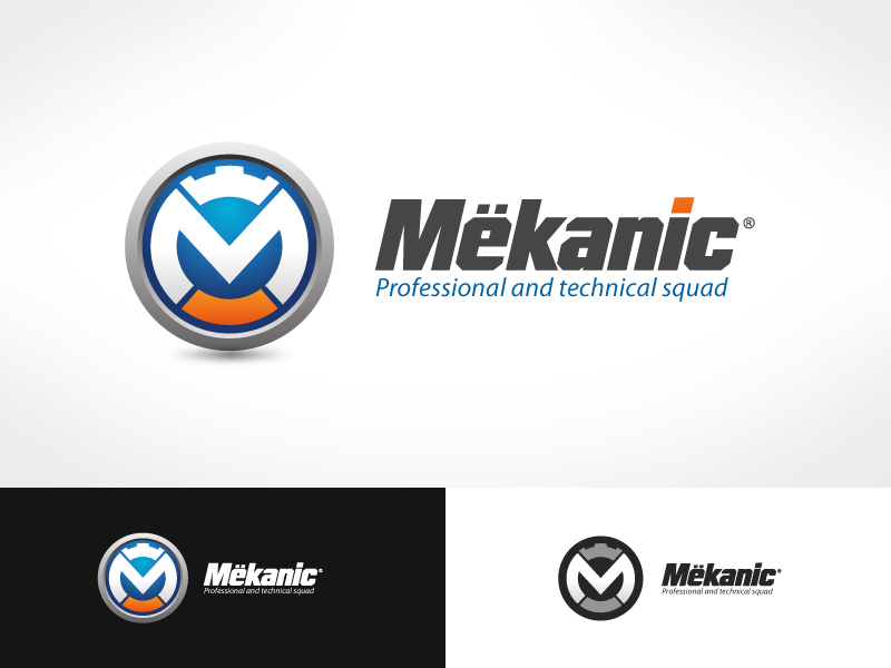 Logo Design by jpbituin - Entry No. 229 in the Logo Design Contest Creative Logo Design for MËKANIC - Professional and technical squad.
