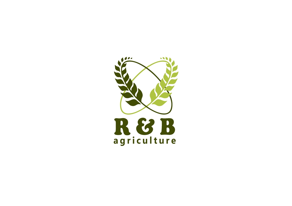 Logo Design by Respati Himawan - Entry No. 35 in the Logo Design Contest Captivating Logo Design for R & B Agriculture.