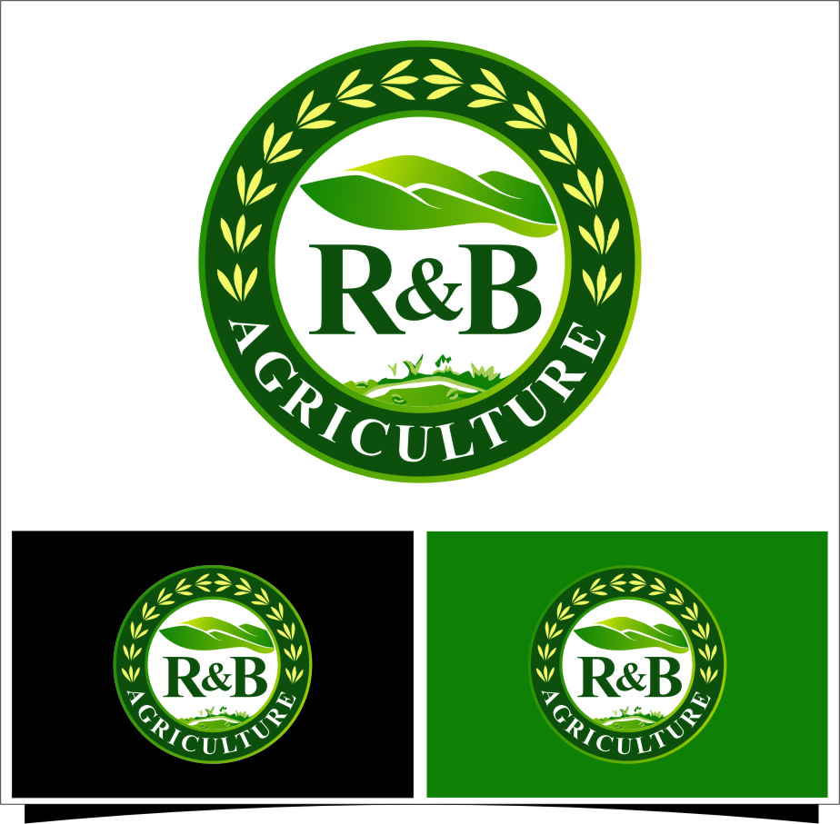 Logo Design by RasYa Muhammad Athaya - Entry No. 38 in the Logo Design Contest Captivating Logo Design for R & B Agriculture.