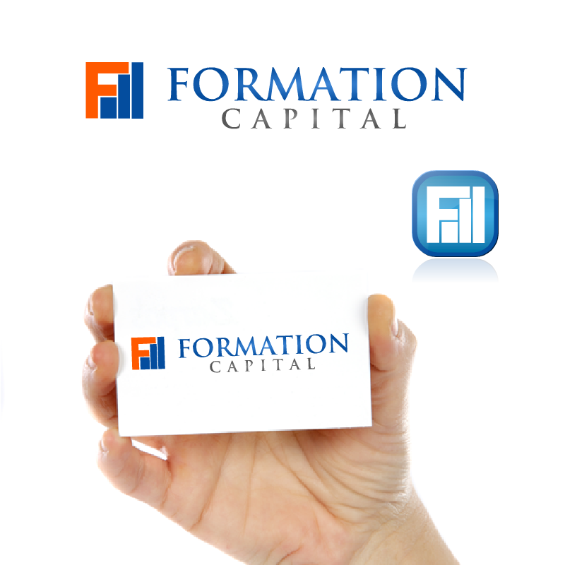 Logo Design by RAJU CHATTERJEE - Entry No. 62 in the Logo Design Contest Inspiring Logo Design for Formation Capital.