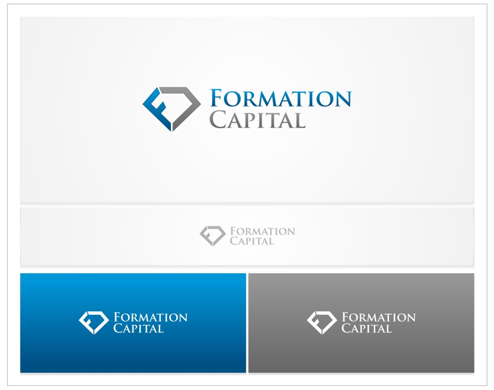 Logo Design by untung - Entry No. 65 in the Logo Design Contest Inspiring Logo Design for Formation Capital.