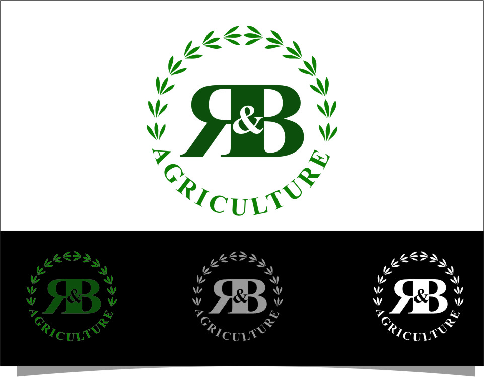 Logo Design by Ngepet_art - Entry No. 41 in the Logo Design Contest Captivating Logo Design for R & B Agriculture.