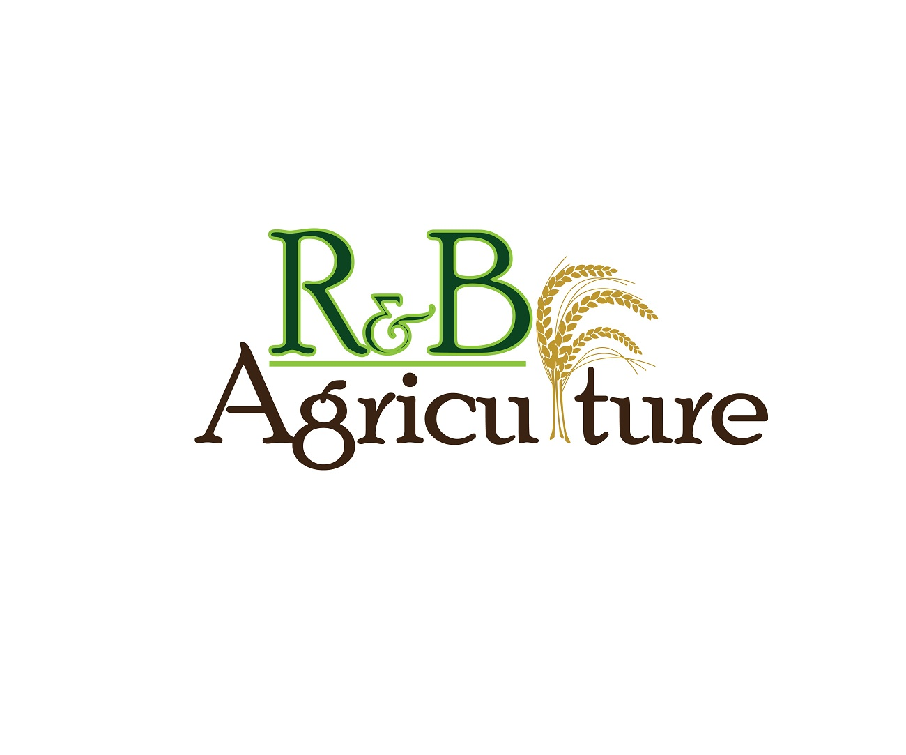 Logo Design by jhunzkie24 - Entry No. 42 in the Logo Design Contest Captivating Logo Design for R & B Agriculture.