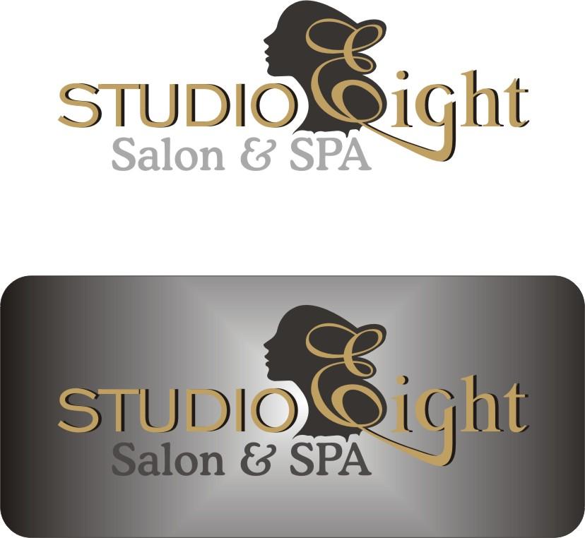 Logo Design by Korsunov Oleg - Entry No. 16 in the Logo Design Contest Captivating Logo Design for studio eight salon & spa.