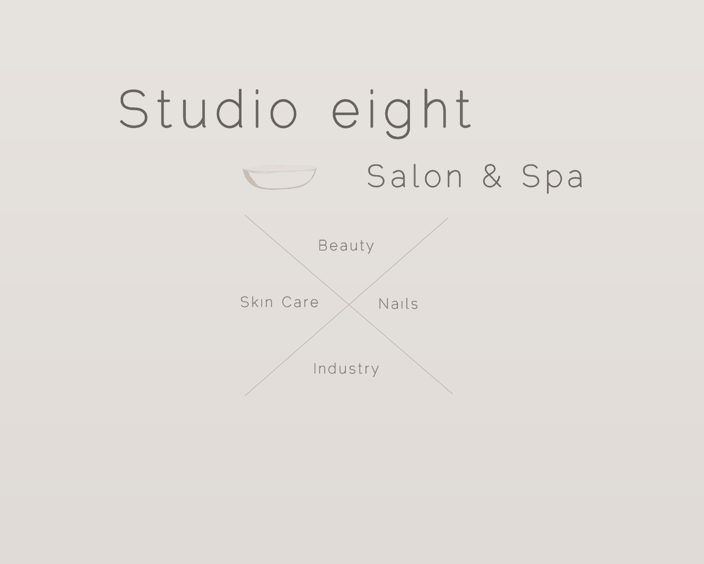 Logo Design by Thodoris Sairoglou - Entry No. 20 in the Logo Design Contest Captivating Logo Design for studio eight salon & spa.